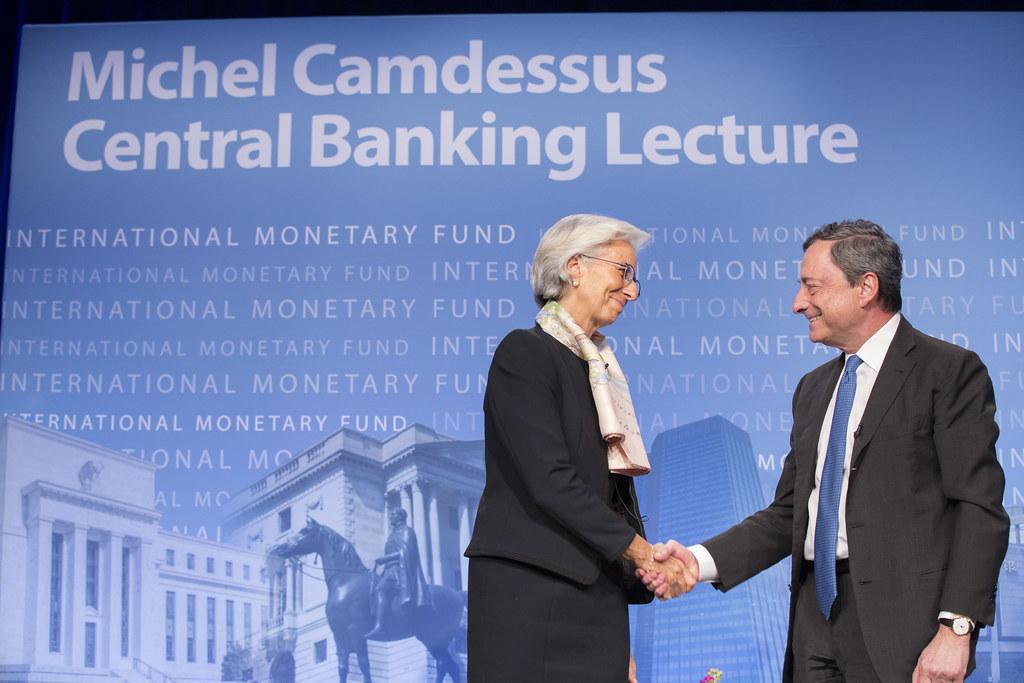Draghi / Largarde